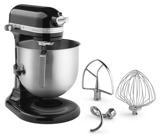 NSF Certified Commercial Series 8-Qt Bowl Lift Stand Mixer