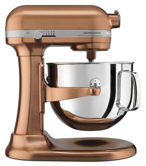 Limited Edition Pro Line Series Copper Clad 7 Quart Bowl-Lift Stand Mixer