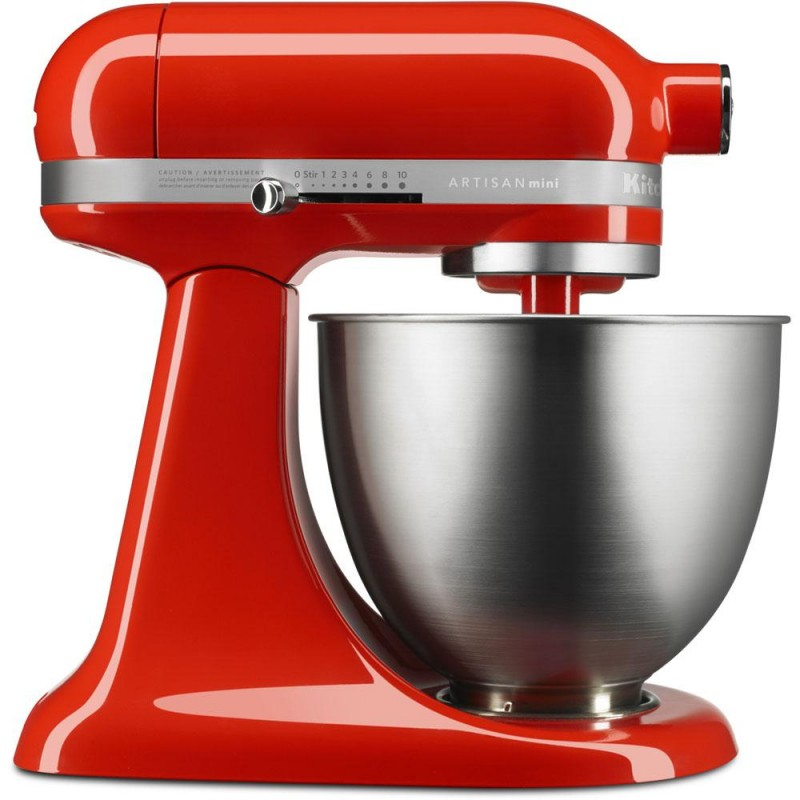 KitchenAid Artisan Mini 3.5 Qt. Tilt-Head Hot Sauce Stand Mixer